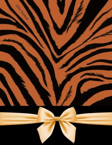 - Zebra Notebook: Zebra Notebook With Faux Satin Texture Bow, 150 Pages, Lined Paper, College Ruled Notebook, Animal Notebook, Unrolled Notebook / Glossy Cover (Leopard Notebook)
