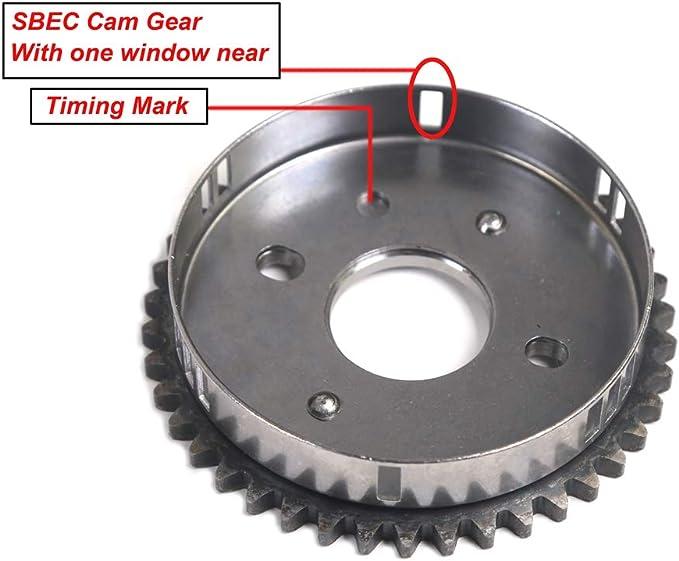 SBEC Cam Timing Chain Kit w// Water Pump for 00-04 Dodge Chrysler Sebring 2.7L