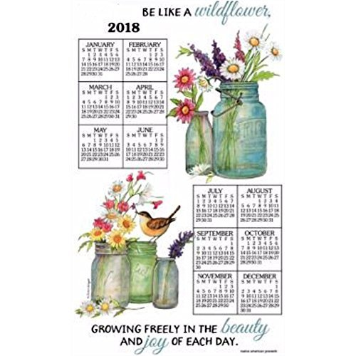 2018 Wildflowers Towel Calendar