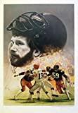 """Pittsburgh Steelers Jack Ham, """"Man of Steel #2"""" Limited Edition Lithograph"""