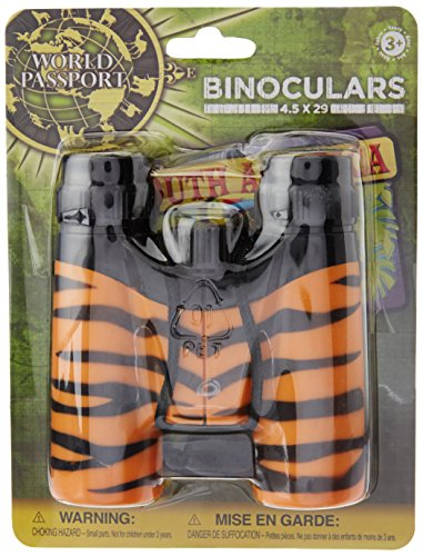 Wild Republic Tiger Print Binocular, Multi Color