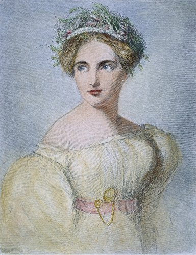 (Fanny Mendelssohn Hensel N(1805-1847) German Composer Wood Engraving 1881 After A Portrait By Her Husband Wilhelm Hensel Poster Print by (24 x 36))