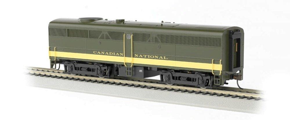 64901 H0 Bachmann Diesel Alco FB2 - sonar  equipado DCC ---Nacional de Canadá (Olive, Yellow)