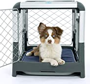 Diggs Revol Dog Crate (Collapsible Dog Crate, Portable Dog Crate, Travel Dog Crate, Dog Kennel) for Small Dogs