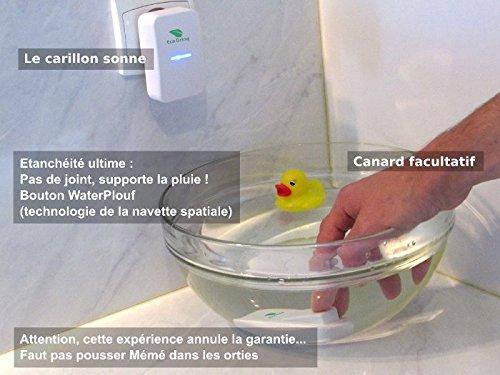 49 00 28 sonnette sans fil sans pile ecodring eco - Sonnette sans fil sans pile ...