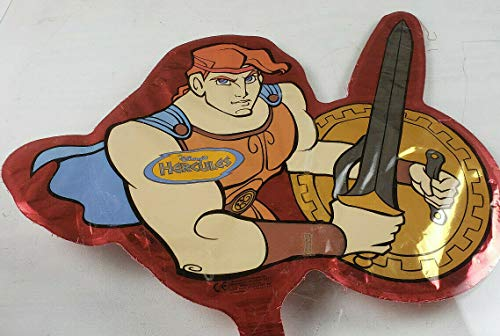 Cool custom shaped Balloon Party Supplies Boy Sports Room Decor Mighty Hercules Hero Cartoon ()