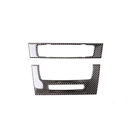 Decorativo 2 Piezas de Fibra del carbón 3D de Coches Aire ...