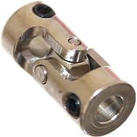 1x Mini Kardangelenk 5mm Wellenkupplung für Modellbau Verbinder Schiffswelle Gelenkwelle Kreuzgelenk Wellenverbinder Neu Joy-Button (Ø5mm)