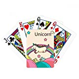 beatChong Stars Rainbow Happy Running Unicorns Poker Playing Card Tabletop Board Game Gift