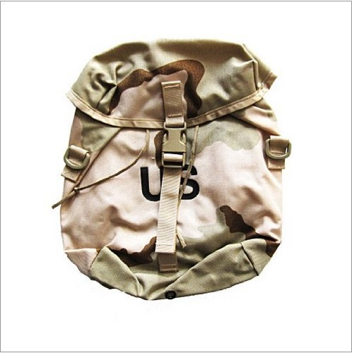 SDS US Military DCU MOLLE Sustainment Pouch, Desert Camo