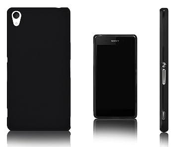Xcessor Vapour Funda Carcasa de TPU Gel Flexible Para Sony Xperia Z2. Negro
