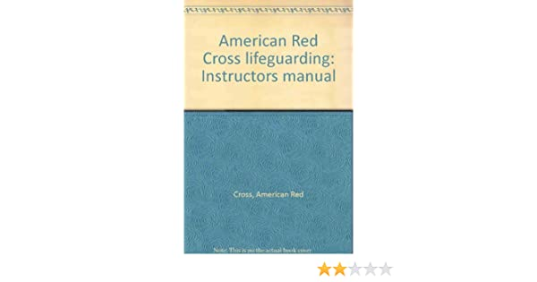 american red cross lifeguarding instructors manual american red rh amazon com Red Cross Lifeguard Certification CPR Certification