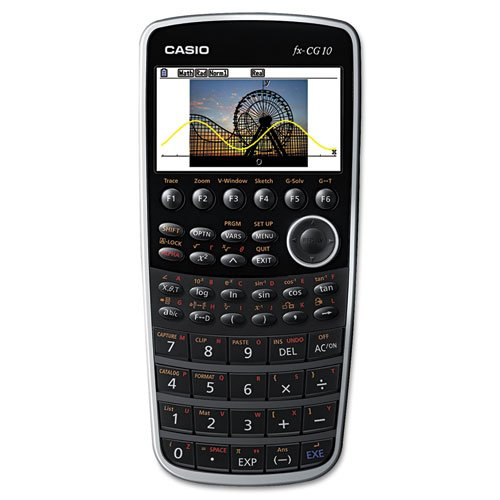 Casio - PRIZM FX-CG10 Graphing Calculator, 21-Digit Color LC