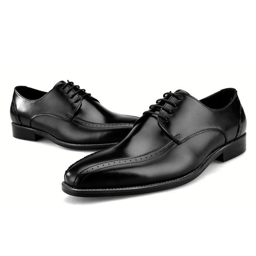 Zxcvb Herren Kleid Schuhe, Oxford Schuhe, Freizeitschuhe, Schwarze Schuhe, braune Schuhe, Kleid Schuhe für Männer schwarz braun