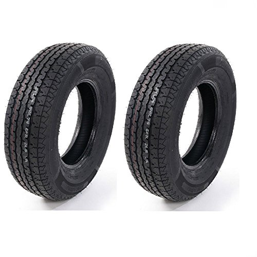 Set of 4 ST205/75R14 Radial Trailer Tires 6 Ply Load Range C 205 75 14 by Roadstar (Image #5)