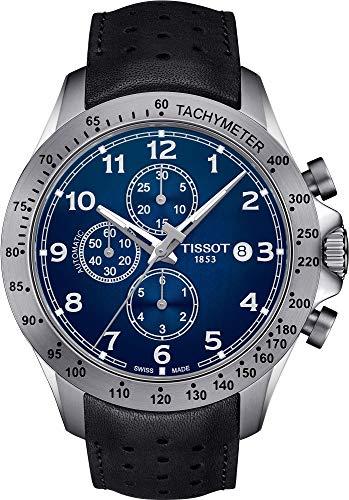 Tissot V8 Blue Dial Automatic Mens Chronograph Watch T106.427.16.042.00