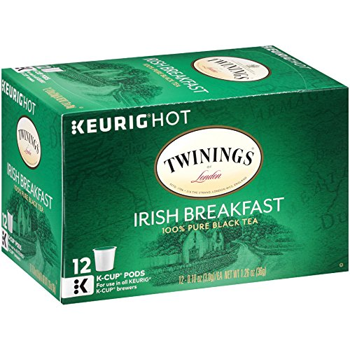Twinings of London Irish Breakfast Tea K-Cups for Keurig, 12 Count (Pack of 6) by Twinings (Image #1)