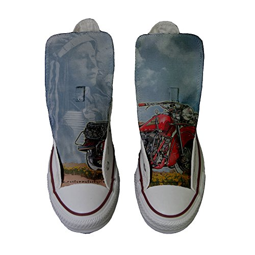 artisanal Coutume Chaussures produit Indiana Converse Customized Motor qwTBgSI