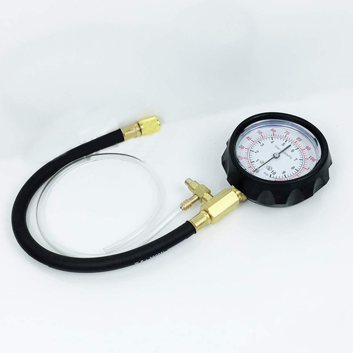 V/éhicules Manom/ètre Manom/ètre Syst/ème Pompe dinjection de Carburant Injecteur Outil de Diagnostic Pompe /à Carburant Testeur de Pression