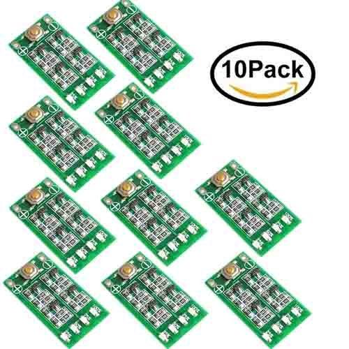 Superiparts 10Pcs Lot 3S 11 1V 12V 12 6V Lithium Battery Capacity Indicator Module Lipo Li Ion Power Level Display Board 3 Series 9 26V