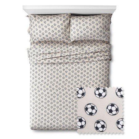 New Soccer Sheet Set FULL by Pillowfort