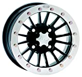 ITP SD-Series Single Beadlock Wheel - 12x7 - 4+3 offset - 4/156 - Matte Black , Bolt Pattern: 4/156, Rim Offset: 4+3, Wheel Rim Size: 12x7, Color: Black, Position: Front/Rear 1228528536B