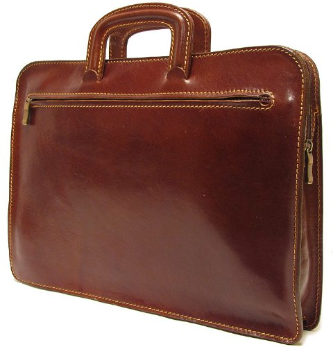Floto Milano Laptop Sleeve in Brown - briefcase, bag by Floto (Image #2)