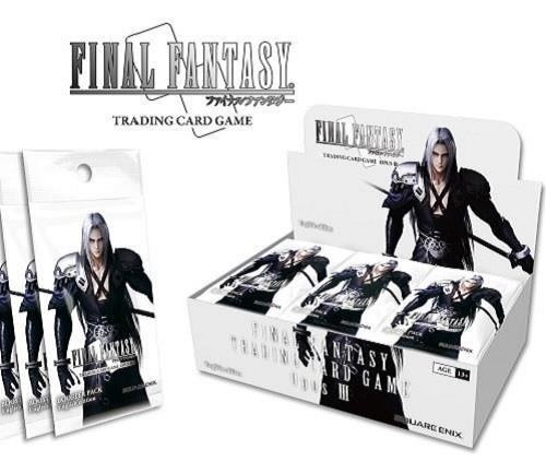 - Final Fantasy Trading Card Game: Opus 3 (III) Collection Booster Box TCG English - 36 packs