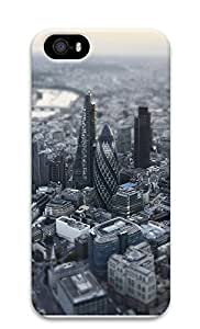Case For Iphone 6 Plus 5.5 Inch Cover London Aerial Miniature View 3D Custom Case For Iphone 6 Plus 5.5 Inch Cover