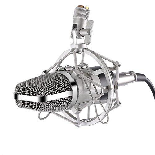 LESHP Broadcasting Microphone Adjustable Performances