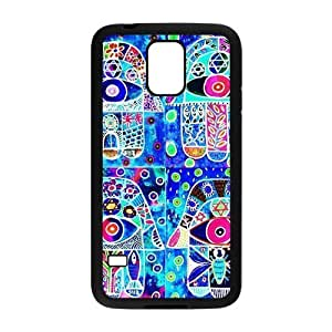 Personalized Fantastic Skin Durable Rubber Material Samsung Galaxy s5 Case - Evil Eye Hamsa