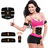 Muscle Toner, Abdominal Toning Belt Abs Training Gear Portable Fitness Machine Exercise For Abdomen/Arm/Leg Support for Men/Women with Remote Control - 03