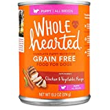 Cheap WholeHearted Grain Free Puppy Chicken and Vegetable Recipe Wet Dog Food, 13.2 oz, Case of 12, 12 X 13.2 OZ