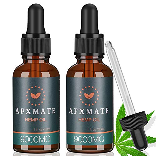 2-Pack-Hemp-Oil-for-Pain-Anxiety-Relief-9000MG-of-Organic-Hemp-Extract-100-Natural-Hemp-Drops-Rich-in-Vitamin-Omega-Helps-with-Sleep-Skin-Hair-Improve-Health