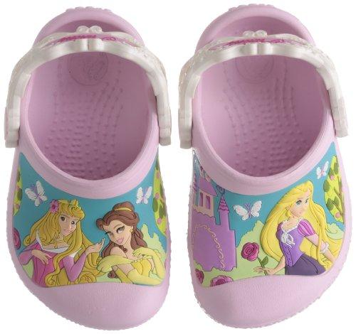 Crocs Princess Dreams in Bloom Clog (Toddler/Little Kid),Bubblegum/Oyster,4-5 M US Toddler