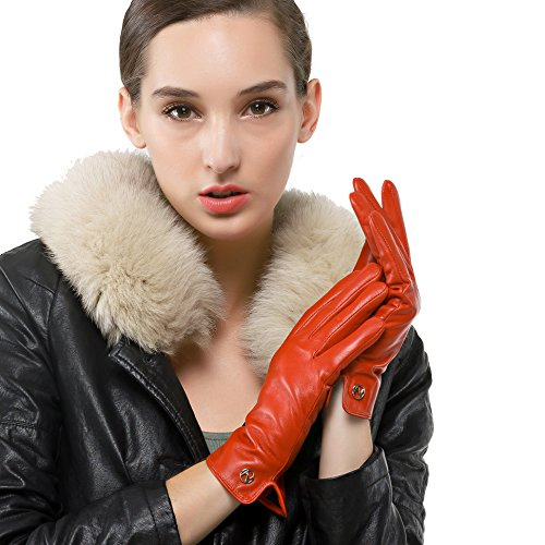 Lambskin Simple touchscreen Lining Pelle  touchscreen non Winter   Pelle ce9088