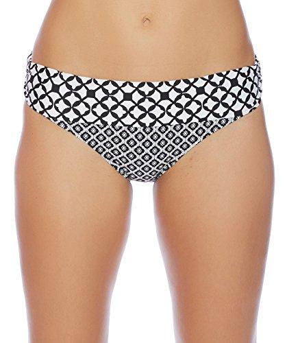 Athena - Baja Geo Lani Banded Bikini Bottom Black