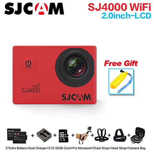 SJCAM SJ4000 Wifi 1080P Full HD Action Camera Sport DVR (Silver) - 7