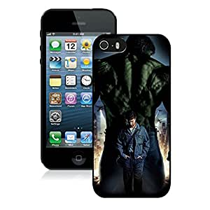 Beautiful Designed Cover Case With Hulk 17 iphone 5 5s Black Phone Case