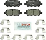 Bosch BC905 QuietCast Premium Ceramic Disc Brake Pad For: Infiniti: (EX,FX,G,JX,M,Q,QX,X); Nissan 350Z, 370Z, Altima, Juke, Leaf, Maxima, Murano, Pathfinder, Quest, Rogue, Sentra, X-Trail + More, Rear