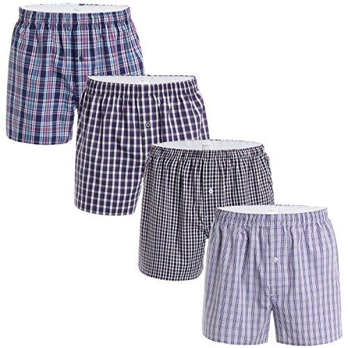 latuza-mens-4-pack-cotton-woven-boxers-m-h