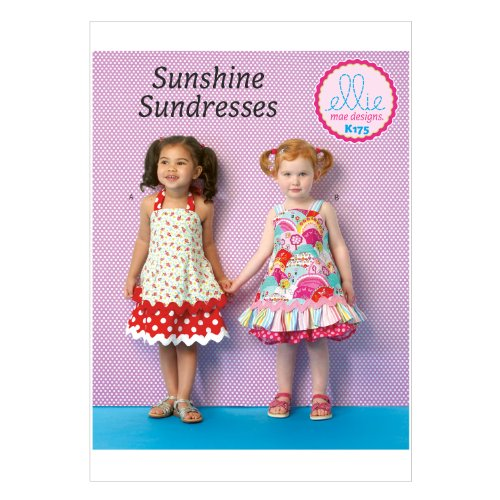 KWIK-SEW PATTERNS K0175 Toddlers' Dresses, All Sizes