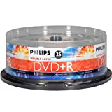 Philips DVD+R8.5gb Dl Fl 25 Pack