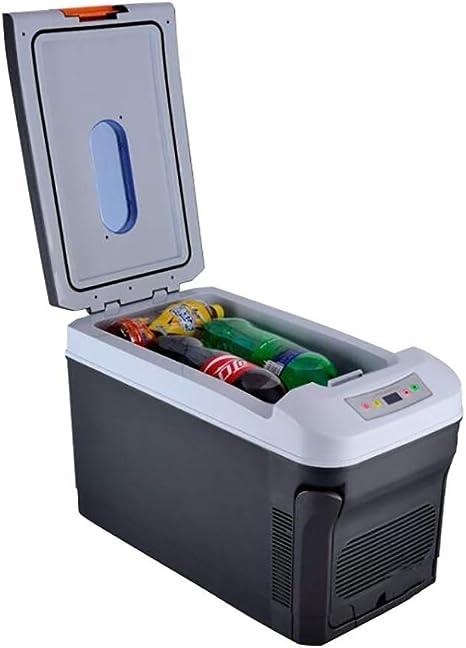 IRVING Mini refrigerador portátil para automóvil de 12V ...