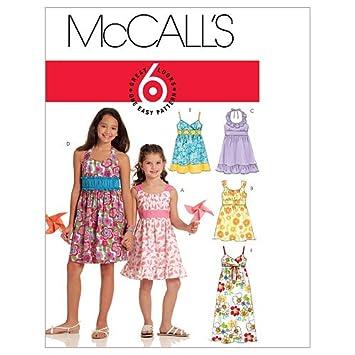McCalls M5838/ /Patron de Couture en Anglais et Allemand alemania Talla 104-122