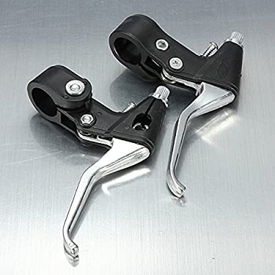 Bike Bicycle Brake Levers BMX Road Mountain Folding Front Rear Pair : Sports & Outdoors