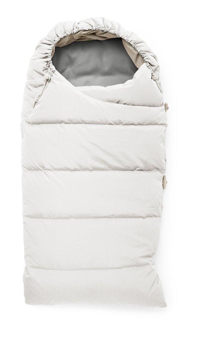 Stokke Down Sleeping Bag, Pearl White