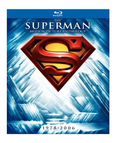 Superman: The Motion Picture Anthology, 1978-2006 Blu-Ray