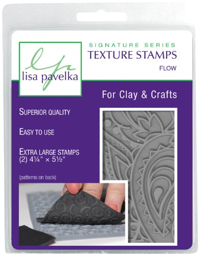 Lisa Pavelka 327066 Texture Stamp Kit Flow by JHB International Inc