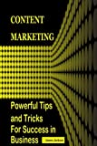 Content Marketing: POWERFUL TIPS AND TRICKS FOR SUCCESS IN BUSINESS (content marketing agency,content for web,web marketing for profit, web marketing ... marketing strategy,seo 2017) (Volume 3)